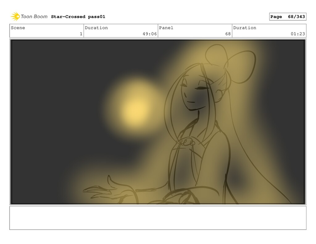 Scene 1 Duration 49:06 Panel 68 Duration 01:23 ...
