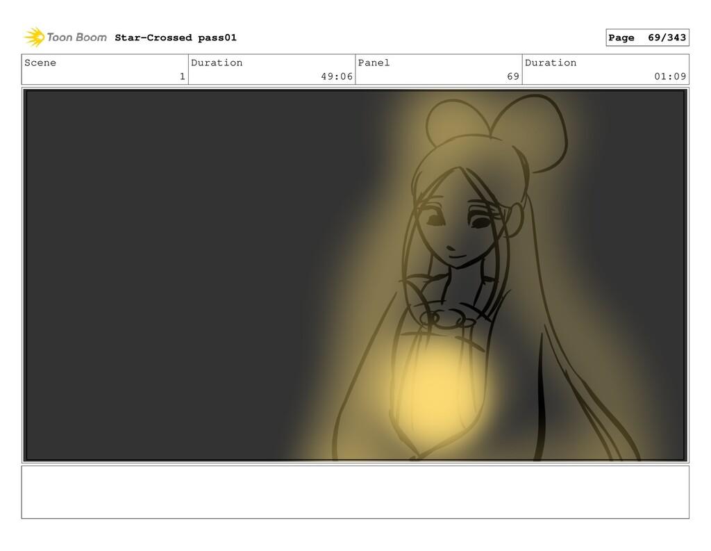 Scene 1 Duration 49:06 Panel 69 Duration 01:09 ...