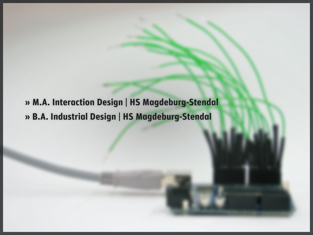 » M.A. Interaction Design   HS Magdeburg-Stenda...