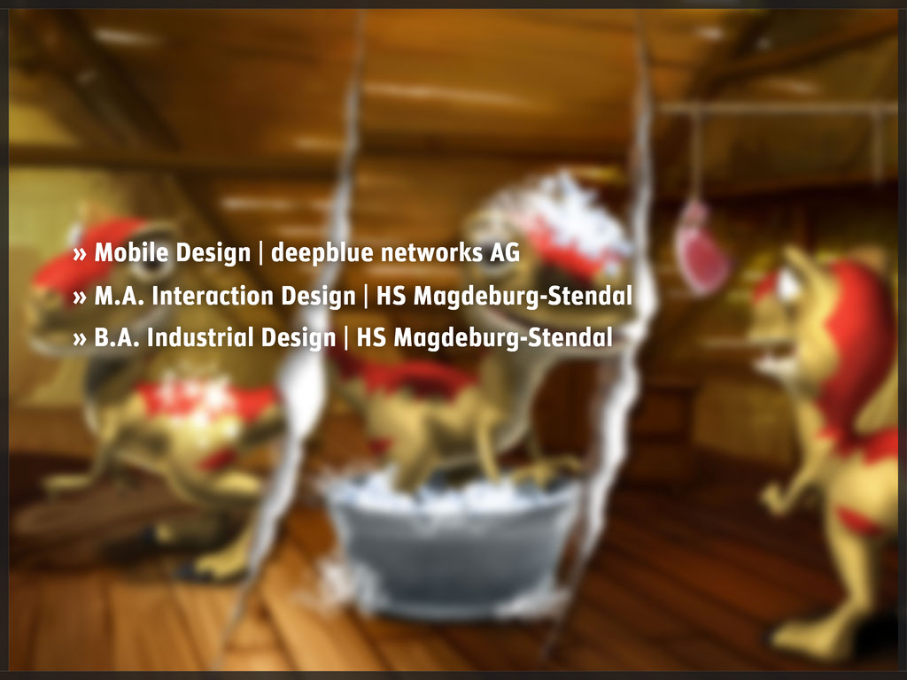 » Mobile Design   deepblue networks AG » M.A. I...