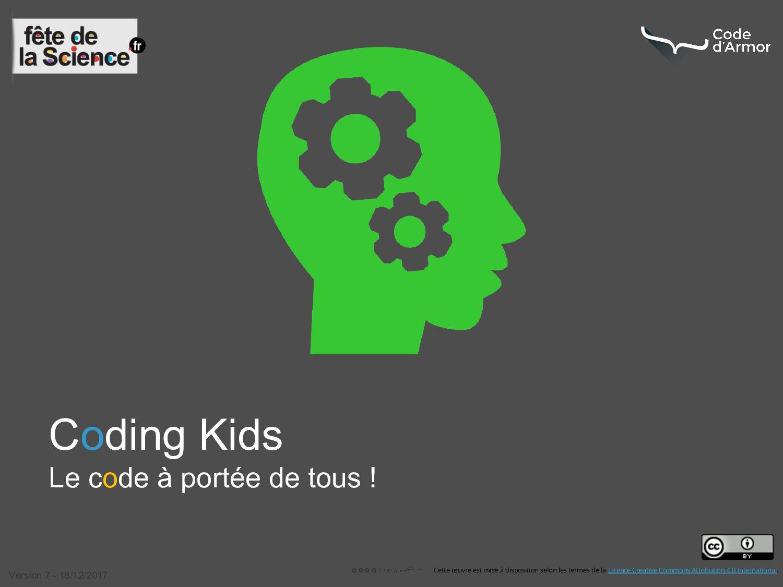 Coding Kids Le code à portée de tous ! ✿✿✿✿ ʕ •...
