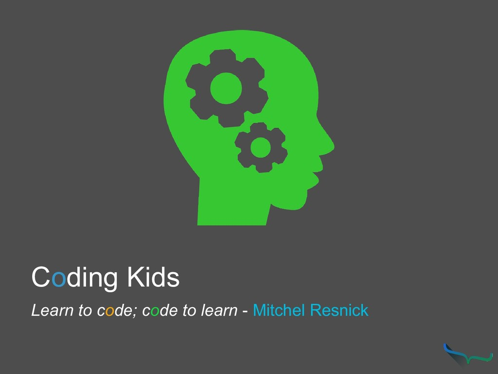 Coding Kids Learn to code; code to learn - Mitc...
