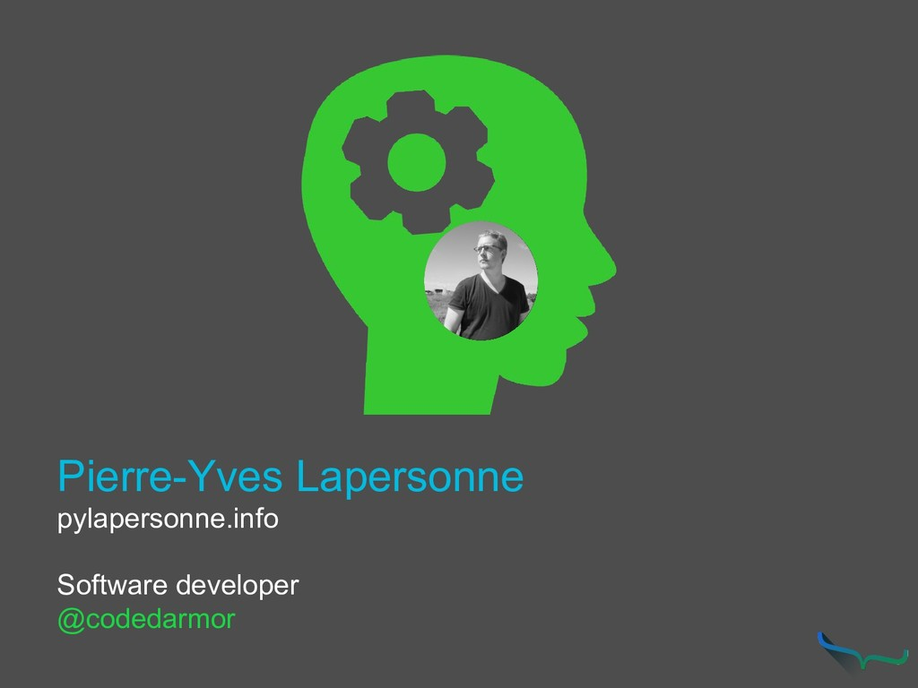 Pierre-Yves Lapersonne pylapersonne.info Softwa...