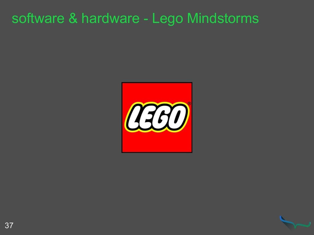software & hardware - Lego Mindstorms 37