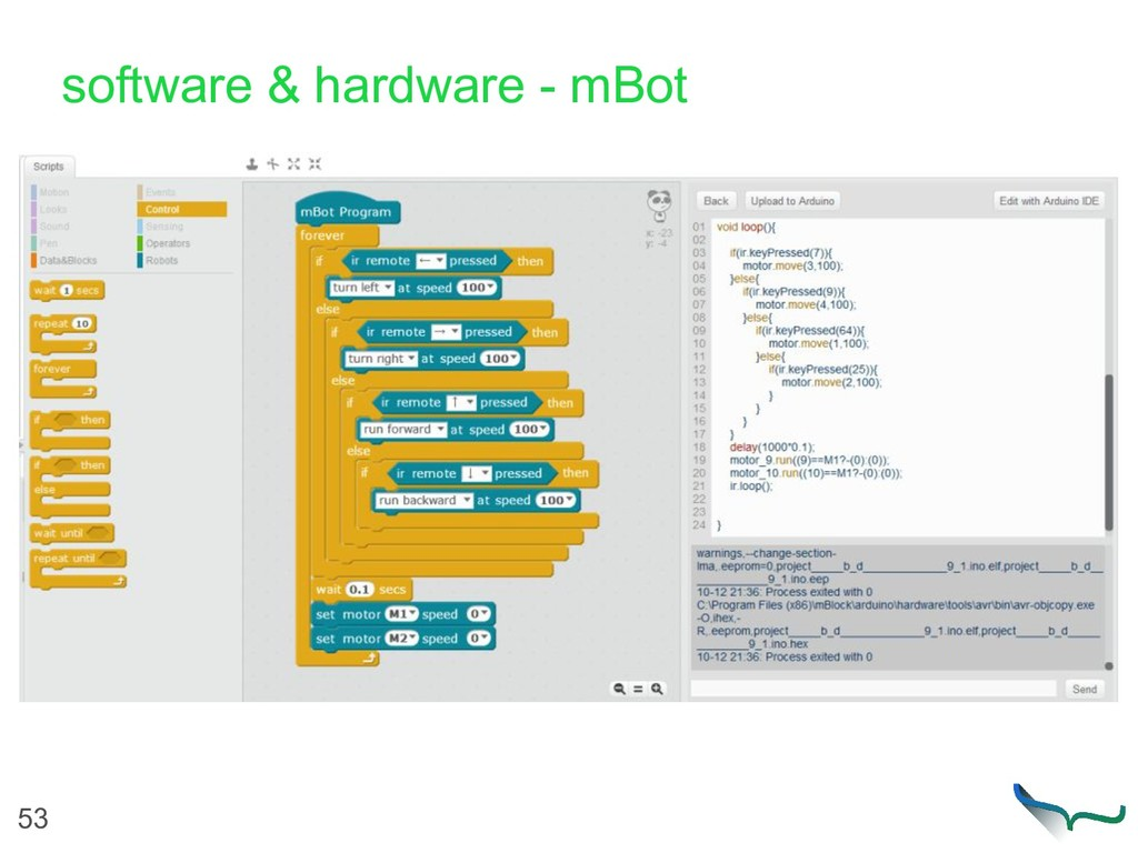 53 software & hardware - mBot