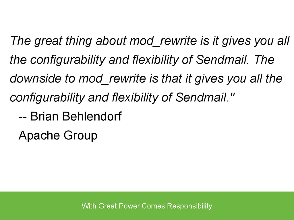 The great thing about mod_rewrite is it gives y...
