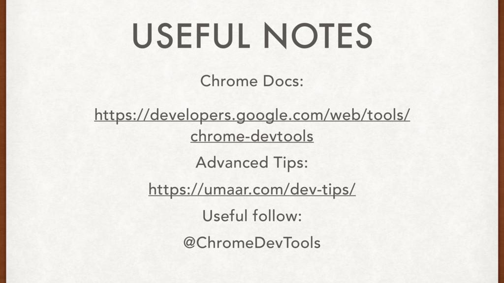Chrome Docs: https://developers.google.com/web/...