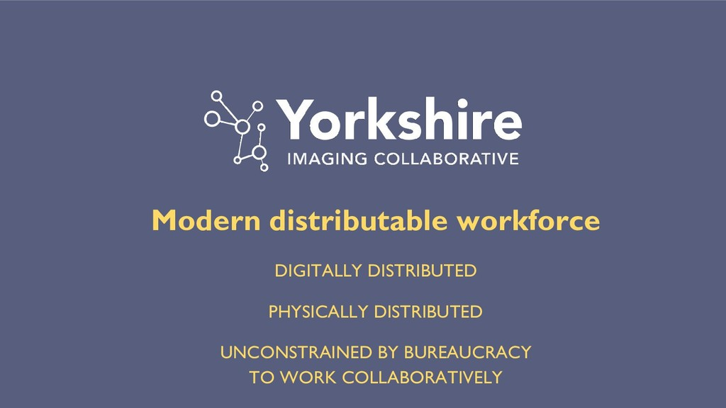 Modern distributable workforce DIGITALLY DISTRI...