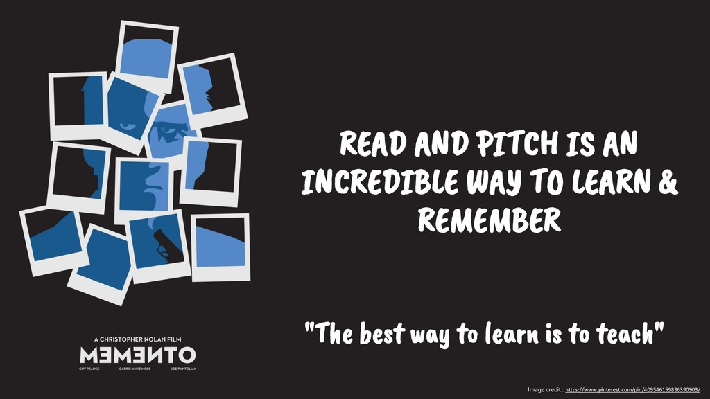 READ AND PITCH IS AN INCREDIBLE WAY TO LEARN & ...