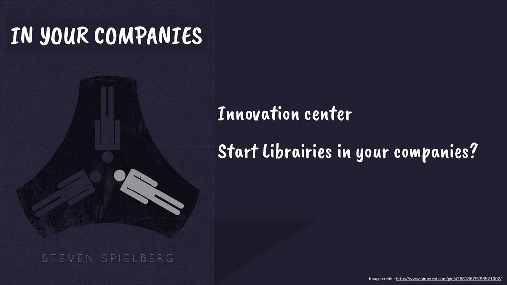 IN YOUR COMPANIES Innovation center Start Libra...