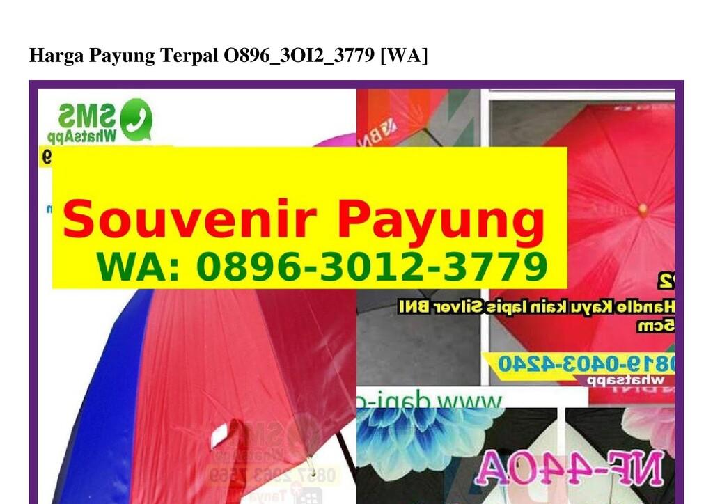 Harga Payung Terpal O896_3OI2_3779 [WA]