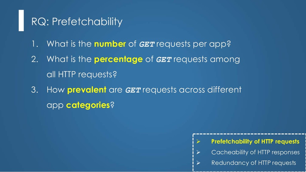 1. What is the number of GET requests per app? ...