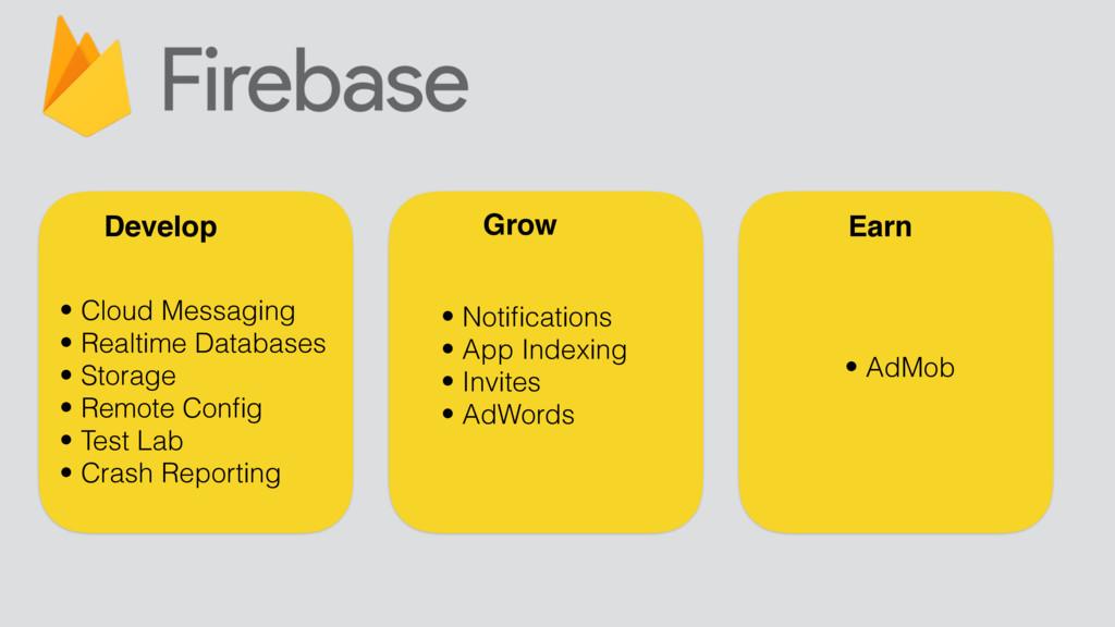 Develop Grow Earn • Cloud Messaging • Realtime ...