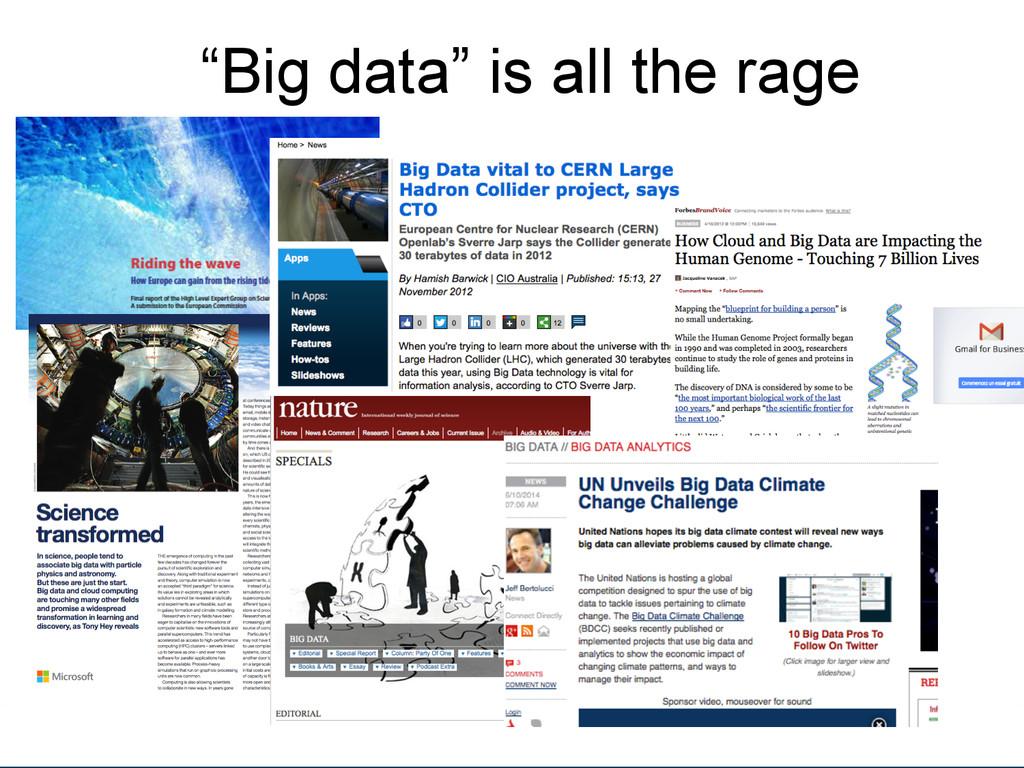 "[Anlass der Präsenta.on]  ""Big data"" i..."