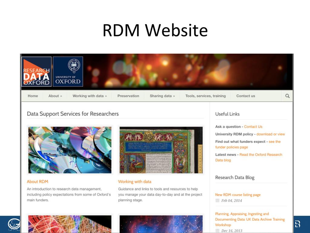 [Anlass der Präsenta.on]  RDM Websi...