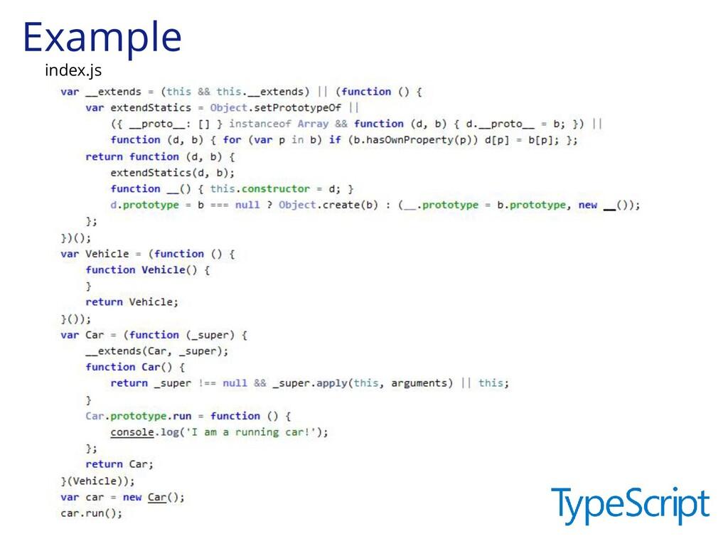 Example index.js