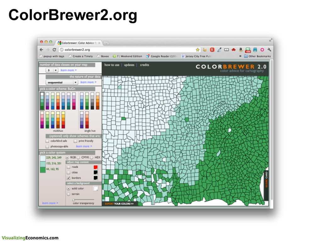 VisualizingEconomics.com ColorBrewer2.org