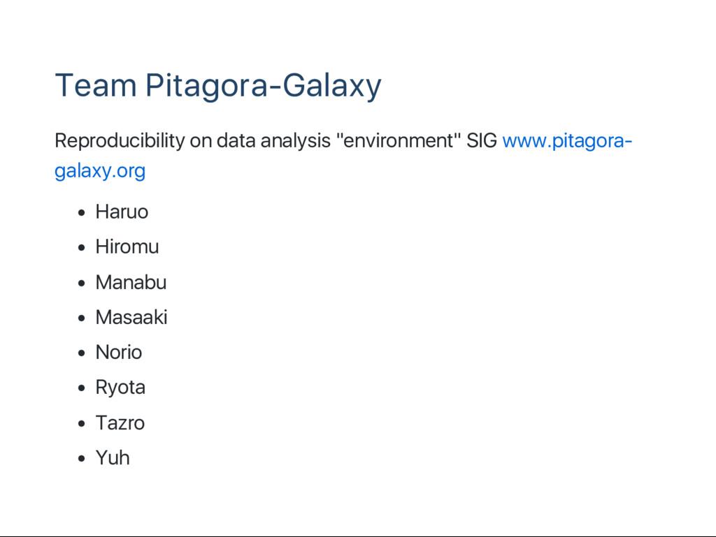 Team Pitagora‑Galaxy Reproducibility on data an...
