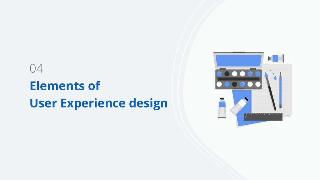 04 Elements of User Experience design