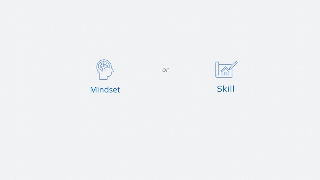 Mindset Skill or