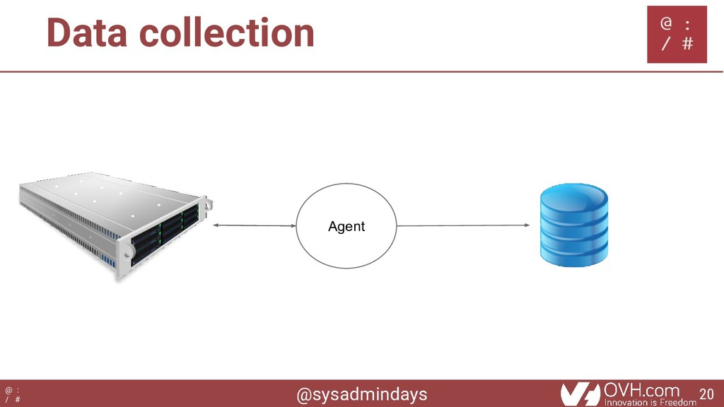 @sysadmindays @ : / # Data collection Agent 20