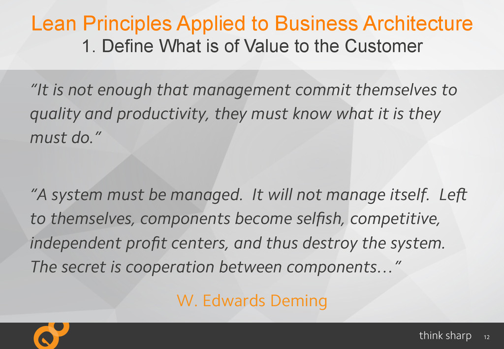 12 Lean Principles Applied to Business Architec...
