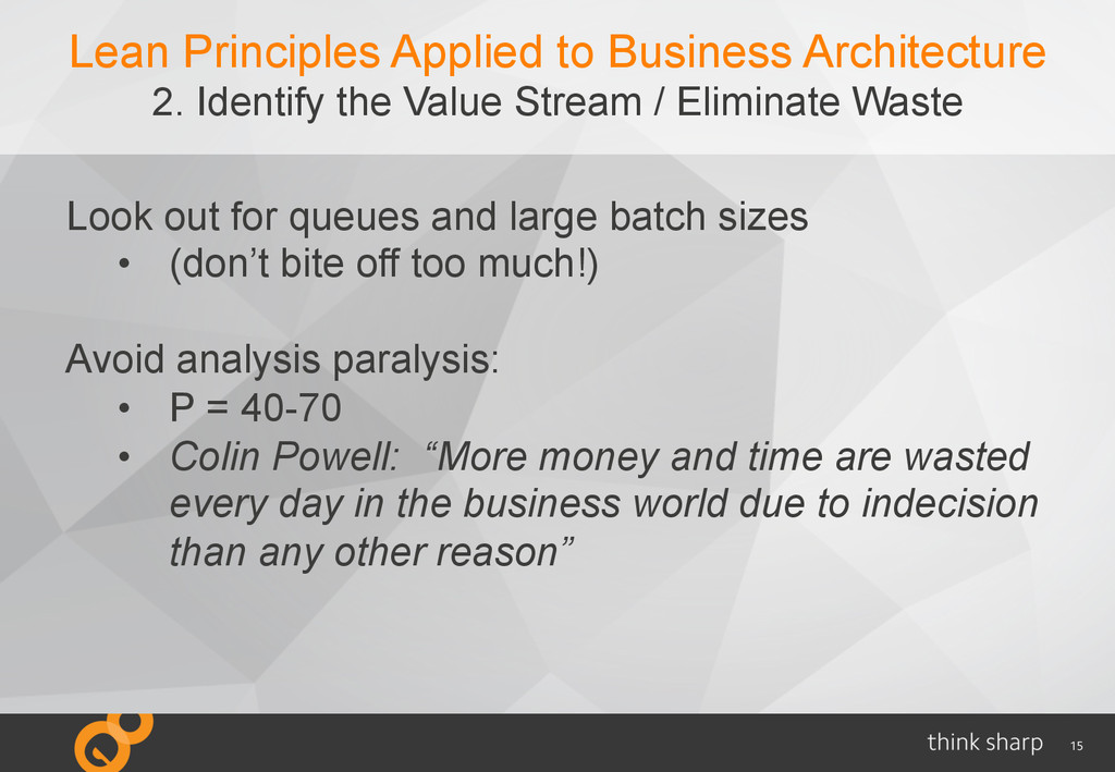 15 Lean Principles Applied to Business Architec...