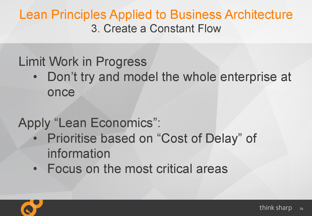 16 Lean Principles Applied to Business Architec...