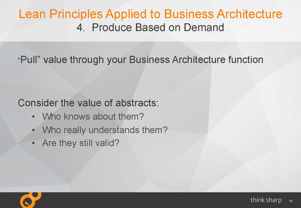 18 Lean Principles Applied to Business Architec...