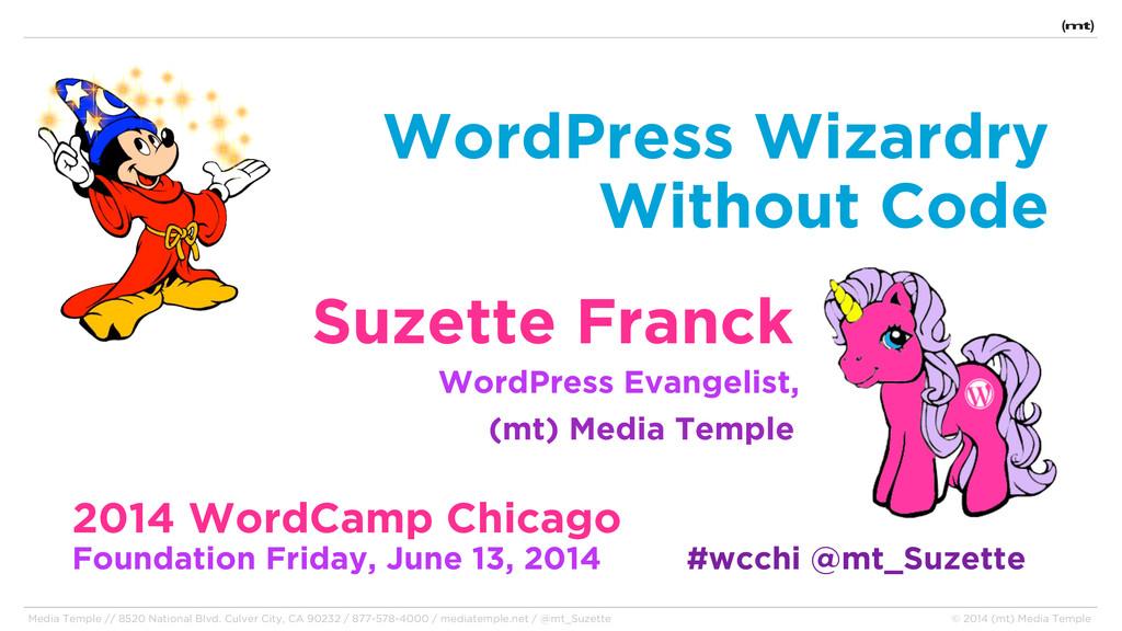 WordPress Wizardry Without Code Suzette Franck ...