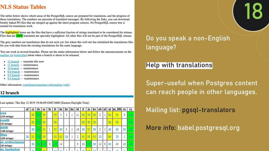 @clairegiordan o Do you speak a non-English lan...