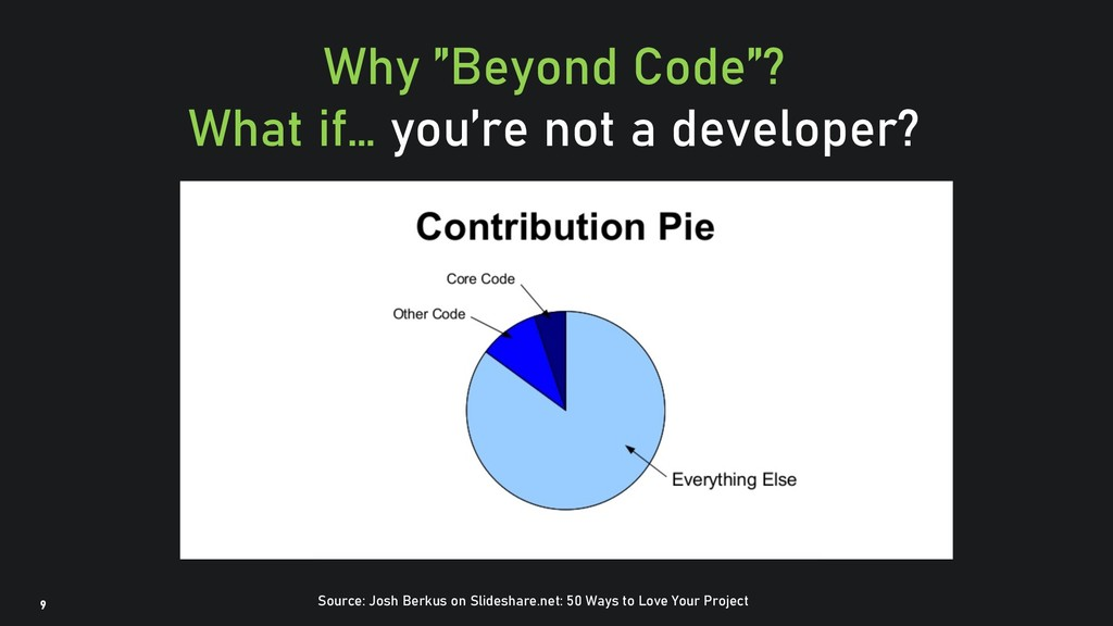 """@clairegiordan o 9 Why """"Beyond Code""""? What if… ..."""