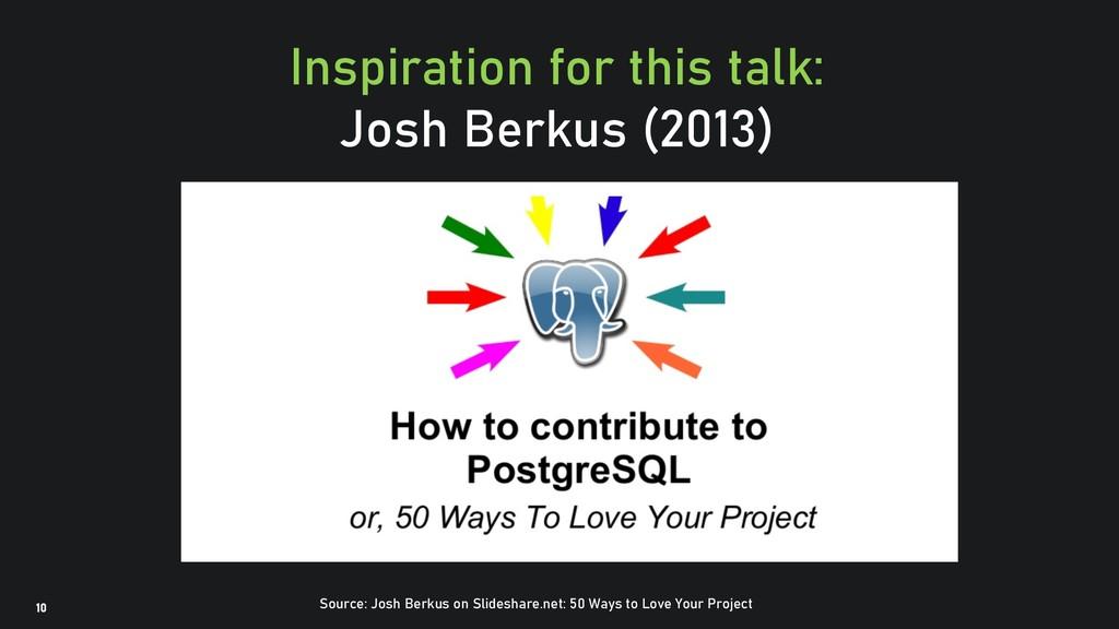 @clairegiordan o 10 Inspiration for this talk: ...