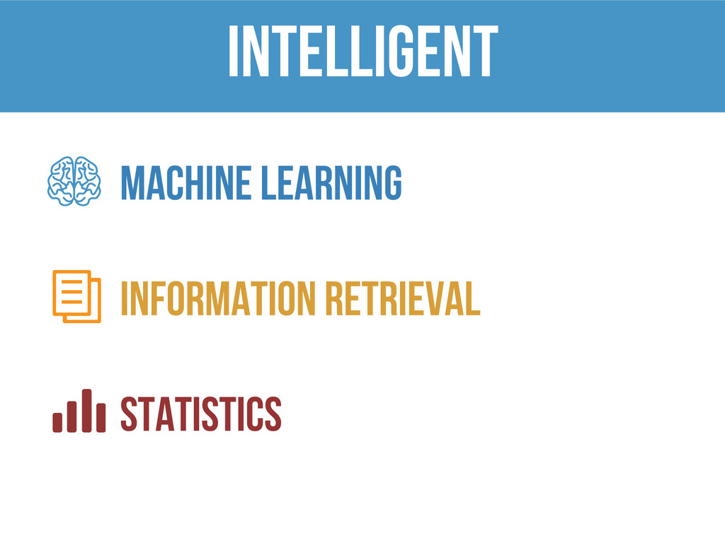 INTELLIGENT Machine learning Information retrie...