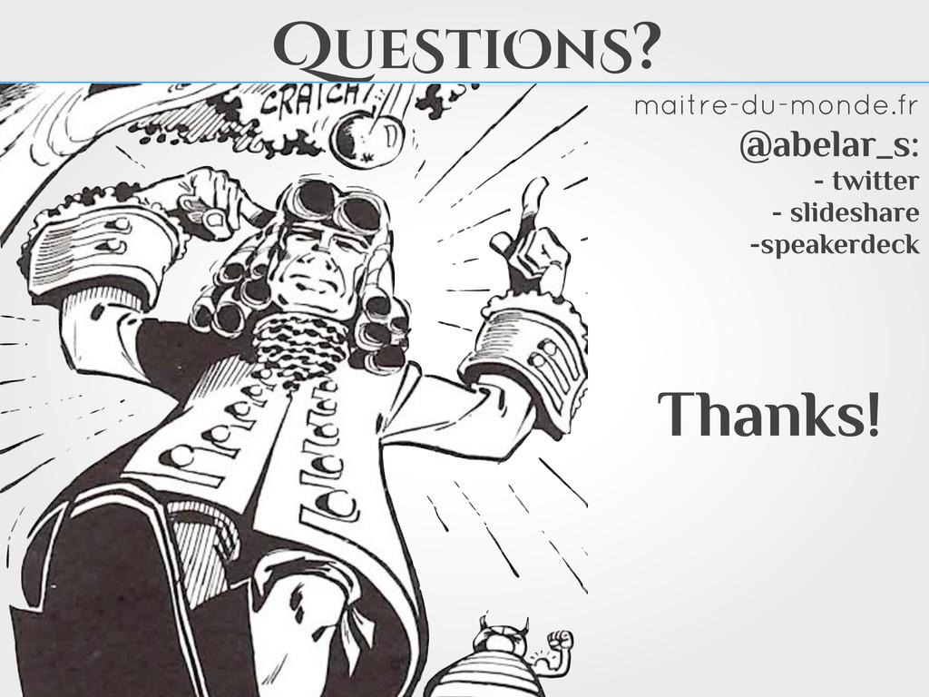 Thanks! maitre-du-monde.fr @abelar_s: - twitter...