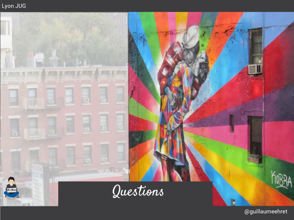 @guillaumeehret Lyon JUG Questions
