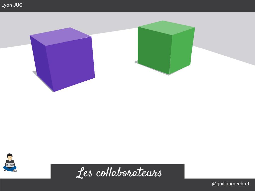 @guillaumeehret Lyon JUG Les collaborateurs