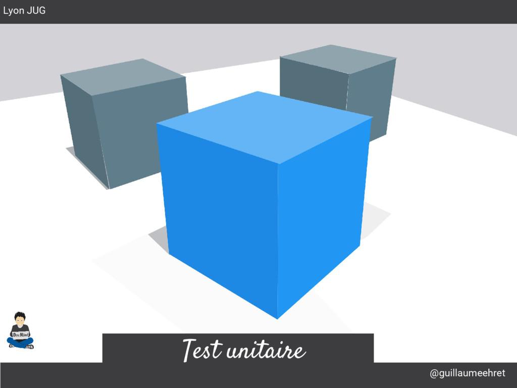@guillaumeehret Lyon JUG Test unitaire