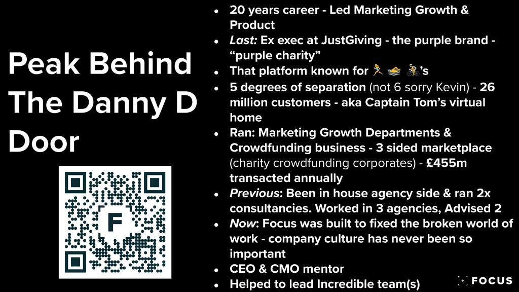 • 20 years career - Led Marketing Growth & Prod...