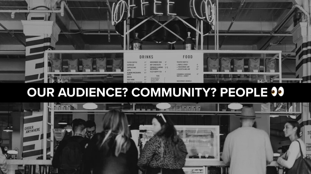 LONDON LOCKDOWN 2.0 OUR AUDIENCE? COMMUNITY? PE...