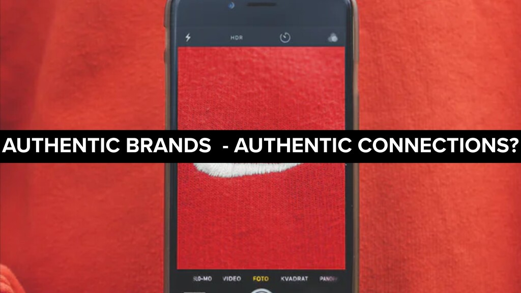 AUTHENTIC BRANDS - AUTHENTIC CONNECTIONS?