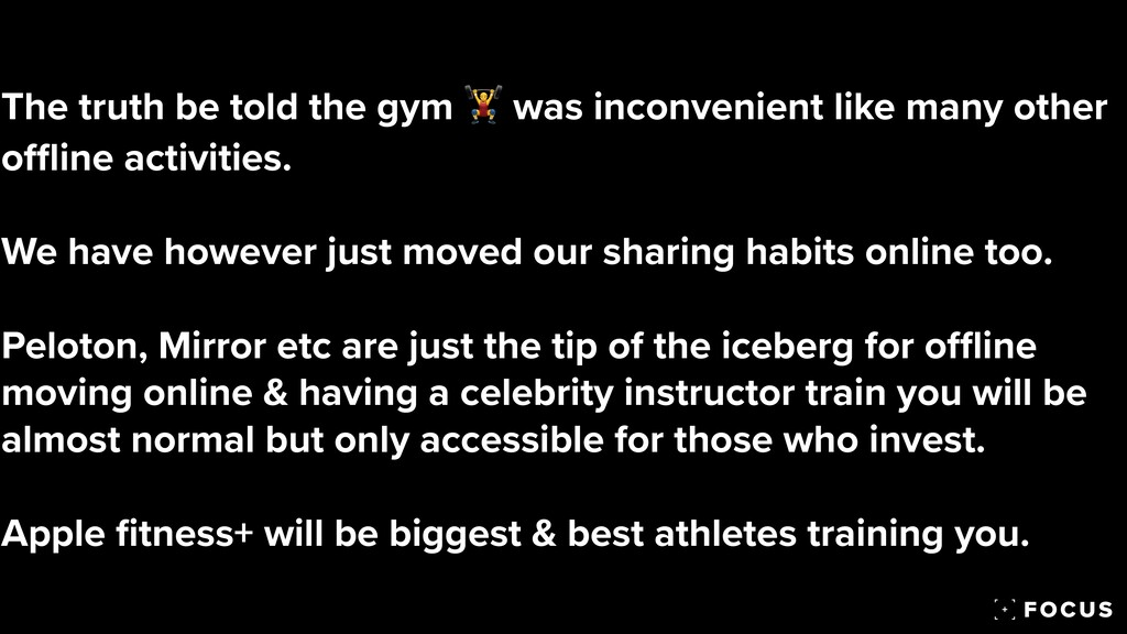 The truth be told the gym 🏋 was inconvenient li...