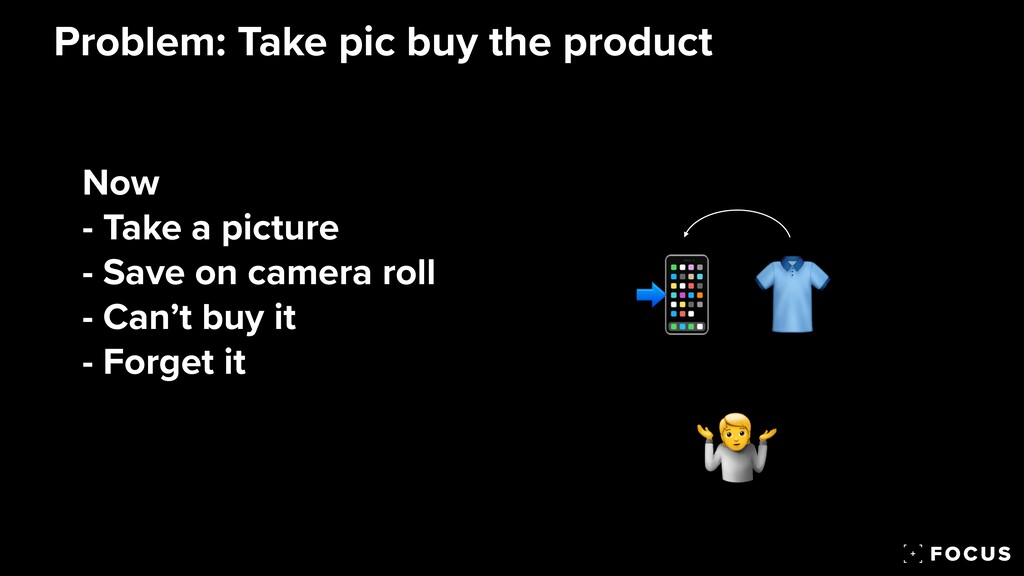 Now   - Take a picture  - Save on camera roll ...