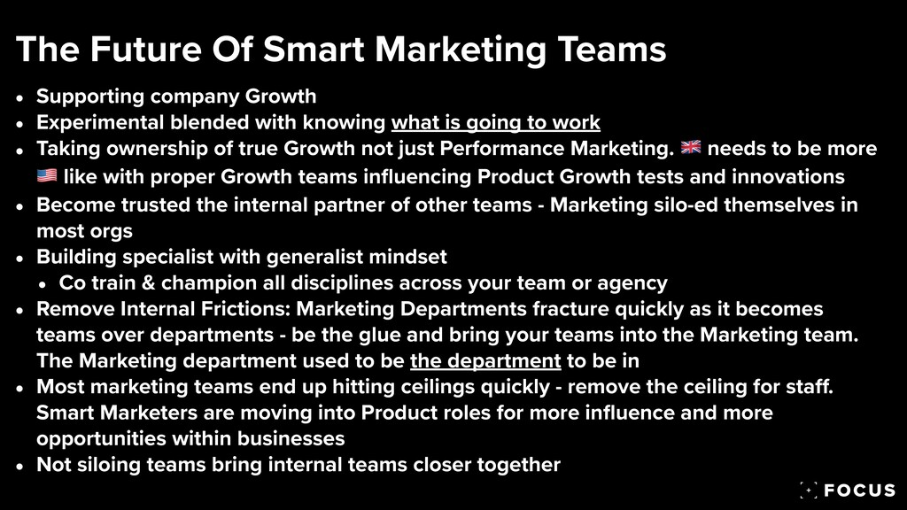 • Supporting company Growth   • Experimental bl...