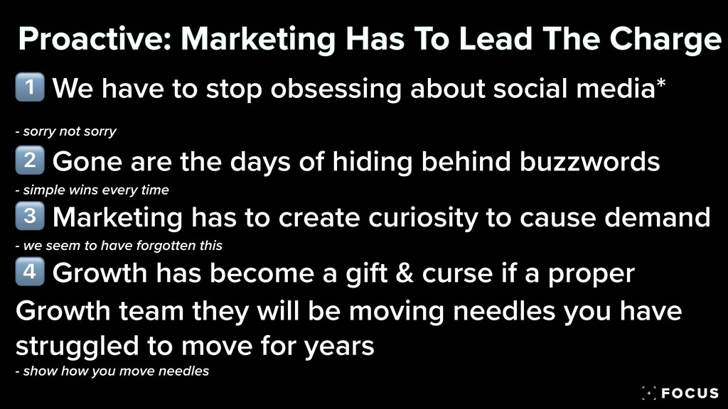 1⃣ We have to stop obsessing about social media...