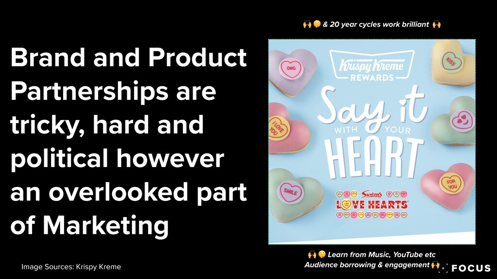 Brand and Product Partnerships are tricky, hard...