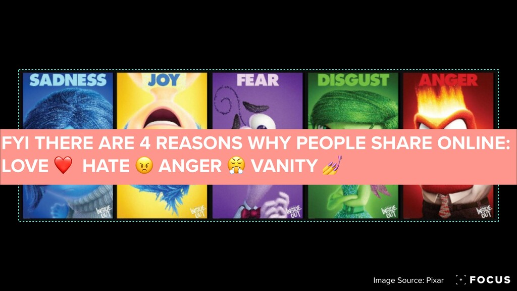 Image Source: Pixar FYI THERE ARE 4 REASONS WHY...