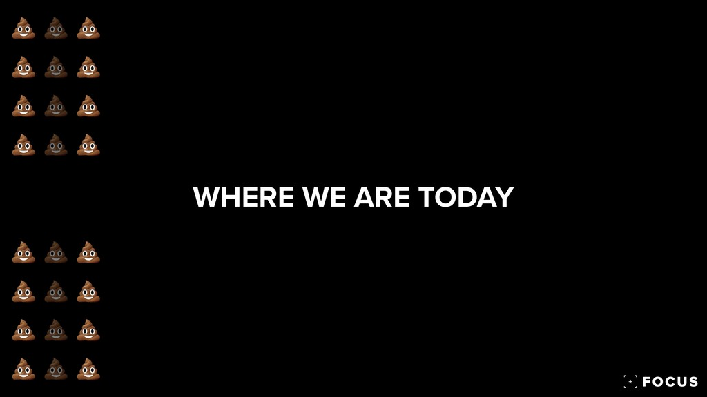WHERE WE ARE TODAY 💩 💩 💩 💩 💩 💩 💩 💩 💩 💩 💩 💩 💩 💩 ...