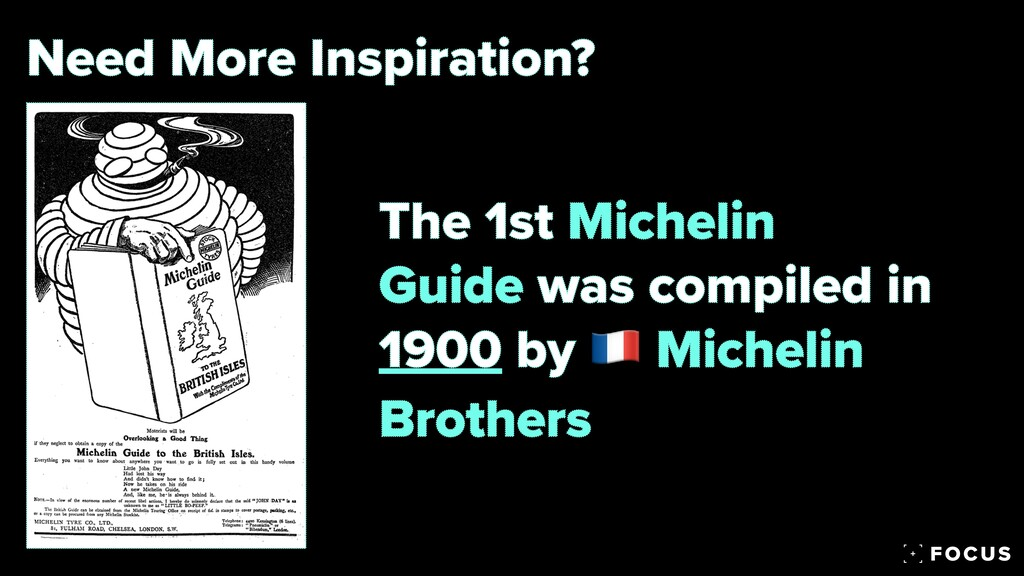 Need More Inspiration? The 1st Michelin Guide w...
