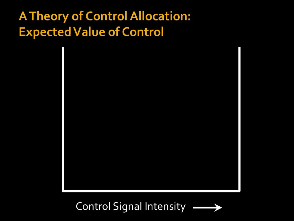 A Theory of Control Allocation: Expected Value ...